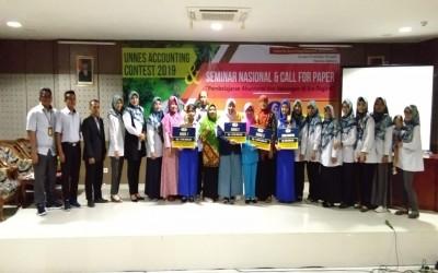 SMK Negeri 2 Semarang Menjuarai Unnes Accounting Contest Tingkat SMK Se-Jawa Tengah Tahun 2019