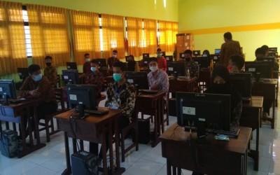 Seleksi Bintara di SMK Negeri 2 Semarang