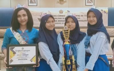 Jurusan Akuntansi SMK Negeri 2 Semarang berhasil meraih Juara 2 Lomba Cerdas Cermat Hari Uang Ke-73