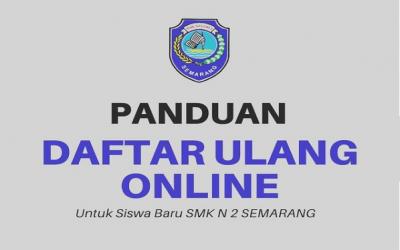 DAFTAR ULANG SMKN 2 SMG 2021/2022